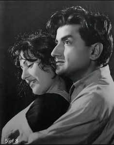Madhubala and Bharat Bhushan In Barsat Ki Raat