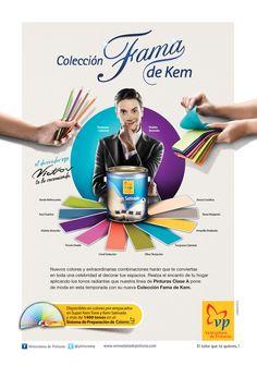 Colección Fama de Kem, para Venezolana de Pinturas, 2012