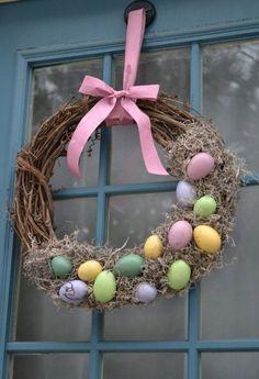 15 DIY Handmade Easter Wreaths | Beauty Harmony Life