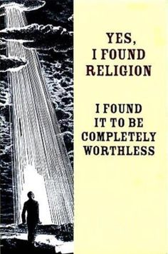 Pretty much sums up my journey to becoming an atheist.
