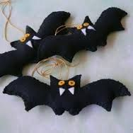 felt ornaments halloween - Google Search