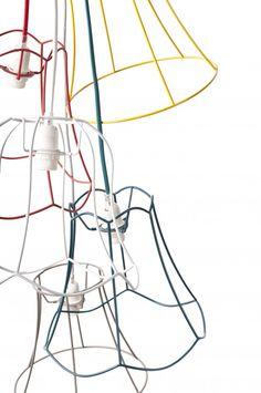 Suspension multicolore Granny Wire :: Zuiver | Mooviin ... I have some shade frames