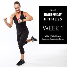 Squeeze in a complete cardio and strength workout in less time than it takes to get to the gym with our Black Friday Fitness program.