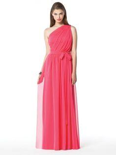 bridals by lori - 1-SHOULDER W/ SELF BELT @ WST Dessy 2831, $187.00 (http://shop.bridalsbylori.com/1-shoulder-w-self-belt-wst-dessy-2831/)