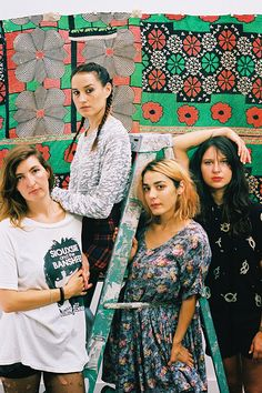 As they ready the release of their third album, Warpaint remain bound by their laidback charm, relaxed humour, and an affectionate sense of loyalty Warpaint Band, Questions For Friends, Isnt She Lovely, Breath In Breath Out, Badass Women, Girl Bands, Music Is Life, My Girl, Beautiful People