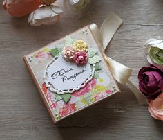 The small present box for a little gift.  Spellbinders dies Sinitsa_art