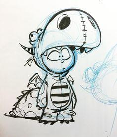 Meet Duncan. Coming to a comic near you this summer. #imagecomics #ihatefairyland #characterdesign