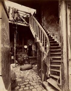Cité Trebert, Porte d'Asnieres; Eugène Atget (French, 1857 - 1927); 1912; Albumen silver print; 22.2 × 17.4 cm (8 3/4 × 6 7/8 in.); 94.XM.108.5; Anonymous gift; J. Paul Getty Museum, Los Angeles, California