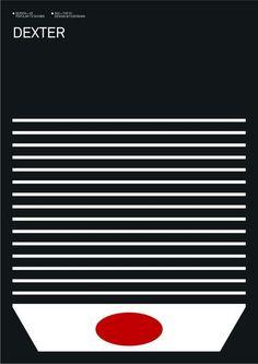 Minimalist Poster Series of Popular TV Shows