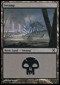 Swamp (3) ($.00) Price History from major stores - 10th Edition (Foil) - MTGPrice.com Values for Ebay, Amazon and hobby stores!