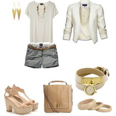 nude, created by klodi83 on Polyvore