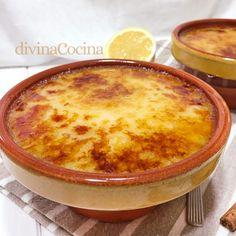 arroz con leche asturiano 2 Cornbread, Cake Recipes, Deserts, Pudding, Tasty, Ethnic Recipes, Yum Yum, Lana, Milk