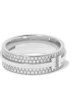 fd24244be12 TIFFANY  amp  CO. .  tiffanyco.   Rose Gold Diamond Ring