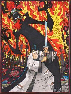 Samurai Jack by Steven Butler