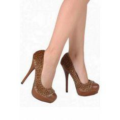 Zapatos de Plataforma Leopardo Z025