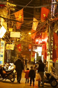 The Old Quarter in Hanoi, Vietnam, one of the favorite destinations of UBELONGers travelling there. #UBELONGTravel