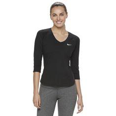 Women's Nike Court Pure Tennis Top, Size: XS, Grey (Charcoal)