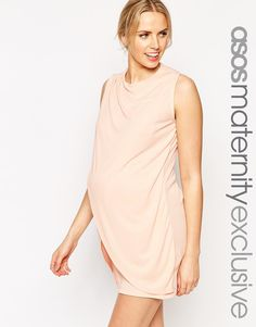 ASOS Maternity NURSING Shift Dress With Wrap Over