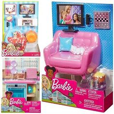 Barbie Sets, Mattel Barbie, Barbie Dolls, Lol Dolls, Doll Clothes Barbie, Barbie Doll House, Barbie Dream House, Little Girl Toys, Baby Girl Toys