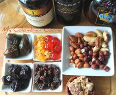 Mezcla Marinada- Torta de Navidad con Frutos Secos