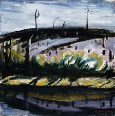 Tyko Sallinen Burnt Clearing Landscape Paintings, Landscapes, Light Colors, Colours, Art Gallery, Lights, City, Wall, Nature