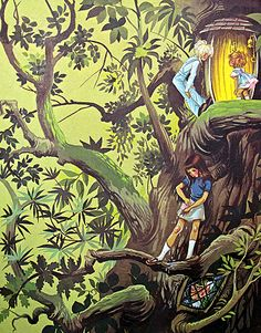the Enchanted Wood by Enid Blyton with illustrations by Janet and Anne Grahame Johnstone  March House Books Blog
