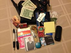What's in Your Wallet? Take a Peek at What's in My Purse
