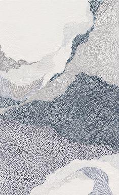 Doodle Drawing, Painting & Drawing, L Wallpaper, Art Et Illustration, Patterned Carpet, Art Graphique, Textures Patterns, Blue Patterns, Art Inspo