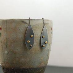złote kropki / mz studio / Biżuteria / Kolczyki