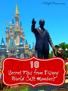 you are going to Disney it is magical to begin with but with these 10 Secret Disney Tips from Disney Cast members your trip will be even more magical because you know the inside scoop and secrets right from cast members who work there! Disney World 2017, Disney World Secrets, Disney World Planning, Walt Disney World Vacations, Disney World Tips And Tricks, Disney Tips, Disney Resorts, Disney Fun, Disney Parks