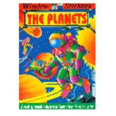 the planets sticker book Case of 72
