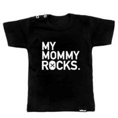 VanPauline shirt My Mommy Rocks
