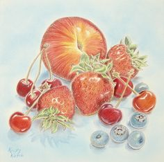 Colored Pencil Techniques: How to Paint Fruit | ArtistsNetwork.tv: If you love to draw in color, then this colored pencil art video is for you! Kristy Kutch shows you how to paint a bountiful still life of fruit on a tinted background, giving you the colored pencil tips and techniques you'll need to enjoy this ideal medium.