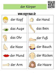 German Body parts