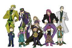 JoJo's bizarre and Jojo's Bizarre Adventure Anime, Jojo Bizzare Adventure, Bizarre Art, Jojo Bizarre, Jojo's Adventure, Jojo Anime, Familia Anime, Jotaro Kujo, Kawaii