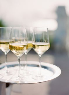 Choose the right stemware for your wine: http://www.stylemepretty.com/living/2016/03/09/9-wine-tasting-tips-every-hostess-should-know-2/