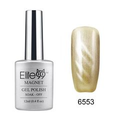 Elite99 Cat Eye 3D Magical Gel Polish Soak Off UV LED Nail Art... ($5.70) ❤ liked on Polyvore featuring beauty products, nail care, nail treatments and gel nail care