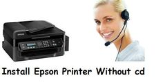 Get a easy way to install Epson printer without CD