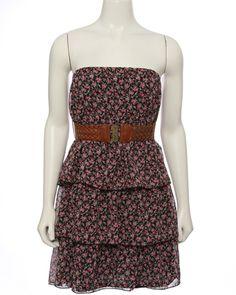 Super cute little dress!  rue21 : BLTD DITZY 3 TIER CHIFFON