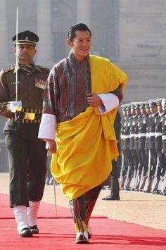 BHUTAN H. M. THE KING OF BHUTAN