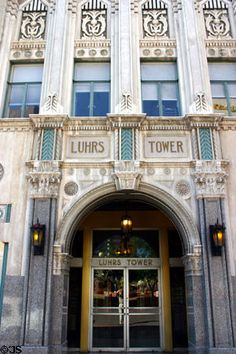 Art Deco doorway Luhrs Tower, Phoenix, AZ