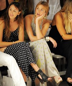 Whitney Port attends the Mara Hoffman Swim show during Mercedes-Benz Fashion Week Swim 2012 at The Raleigh on July 16, 2011 in Miami Beach, Florida