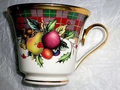 Lenox Holiday Tartan Footed CUP USA NEW   eBay