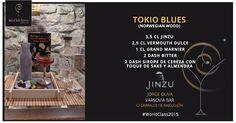 Tokio Blues: Receta presentada por Jorge Oliva para la competición de coctelería #WorldClass2015 con Jinzu Gin. Podrás probarla en calle Cabrales, 18, Gijón