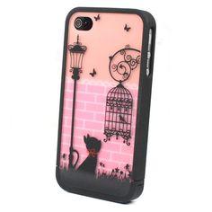 On ebay :   Ero Travel Street Cat Disney Hard Case Back Cover Skin For iPhone 4S 4 4G