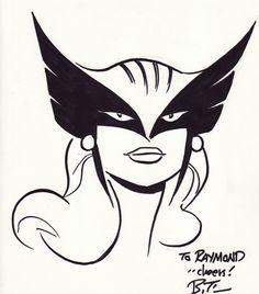 Hawkgirl Sketch by Bruce Timm Batman Drawing, Drawing Superheroes, Comic Drawing, Bruce Timm, Comic Book Artists, Comic Artist, Robert E Howard, Arte Dc Comics, Female Superhero