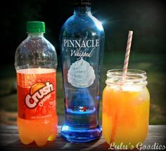 Orange Creamsicle Cocktail - I've had it just with orange juice, yummy!