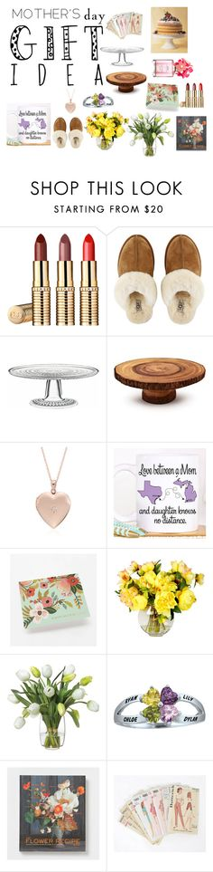 """""""Mother's Day Gifts"""" by sofiareisballet ❤ liked on Polyvore featuring UGG Australia, iittala, Sur La Table, Blue Nile, Diane James, Marc Jacobs and mothersdaygiftguide"""