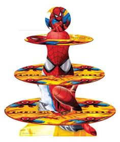 Cupcake Stands available in Spiderman, Toy Story, Cars, Princess Disney Fairies from Sugarland Cake Toppers - QLD - www.cakeappreciationsociety.com