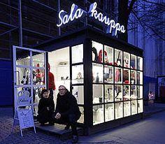 Salakauppa / Popup Shop Helsinki